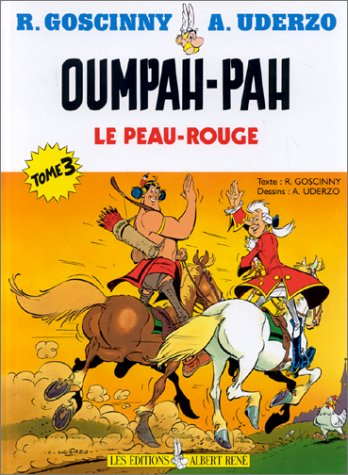 Set of 3 Ompa-Pa Books in FRENCH (Complete 5 OUMPAH-PA stories) - Asterix Presente Son Grand Frer...