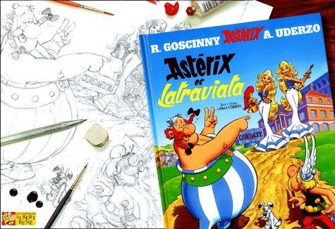 9782864971450: Astérix et La Traviata : L'album des crayonnés