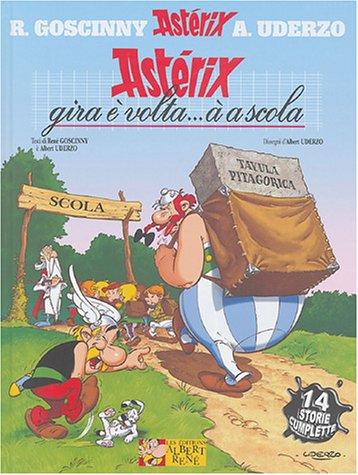 Astérix et la rentrée gauloise : En: René Goscinny