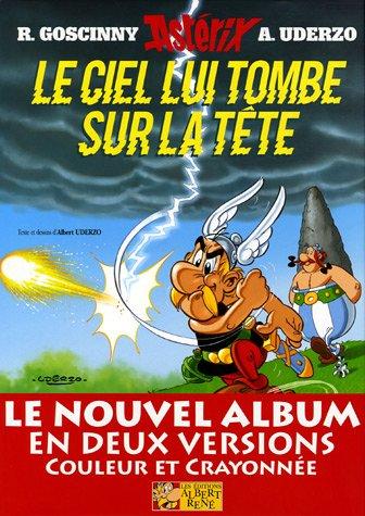 9782864971719: Astérix, Tome 33 : Le ciel lui tombe sur la tête : Version luxe