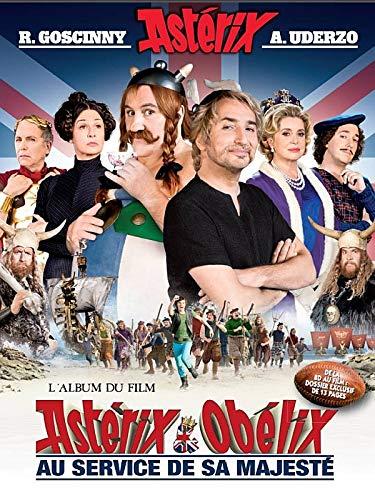Asterix in French: Asterix au service de: Villeneuve, Madame de
