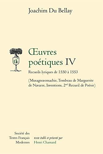 9782865030354: Recueils lyriques de 1550 a 1553 (French Edition)