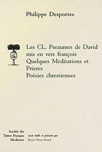 c.l.pseaumes de david.poesies chretienne: Philippe Desportes
