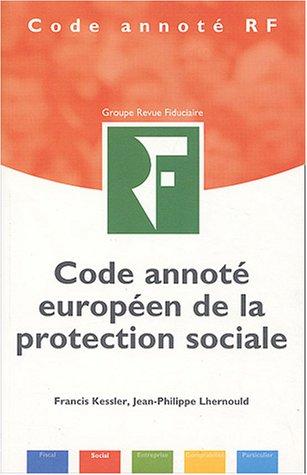 9782865217687: Code annoté européen de la protection sociale