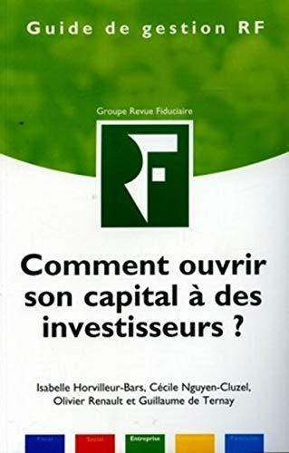 9782865218530: Comment ouvrir son capital � des investisseurs ?