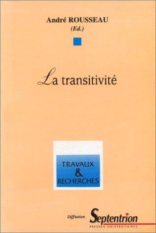 9782865310777: La transitivit�