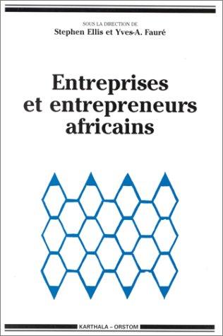 """9782865375301: Entreprises et entrepreneurs africains (Collection """"Hommes et sociétés"""") (French Edition)"""