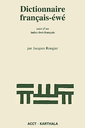 """9782865375677: Dictionnaire français-éwé : suivi d'un index éwé-français (Collections """"Hommes et sociétés"""") (French Edition)"""