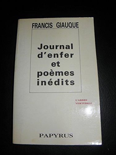 9782865410545: Journal d'enfer (suivi de) poemes in�dits