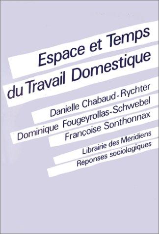 9782865631278: Espace et temps du travail domestique