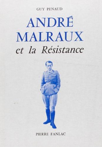 9782865771073: André Malraux et la Résistance (French Edition)
