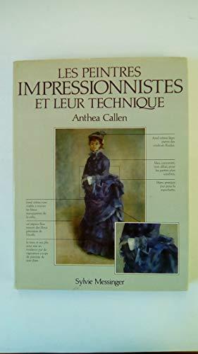 9782865830312: Les Peintres impressionnistes et leur technique