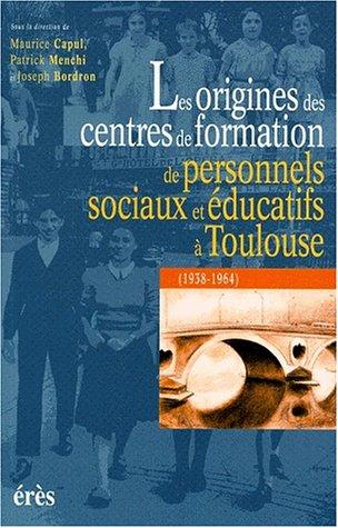 9782865868568: Origines des centres de formation de personnels sociaux