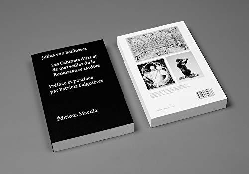 9782865890736: Les Cabinets d'art et de merveilles de la Renaissance tardive. Une contribution à l'histoire du coll