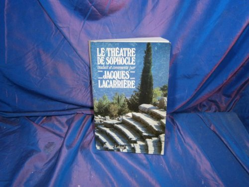 9782865940097: Le théâtre de Sophocle