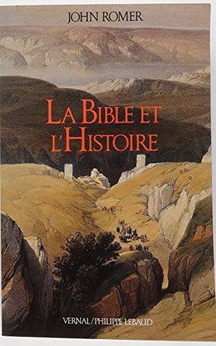 9782865940653: La Bible et l'histoire