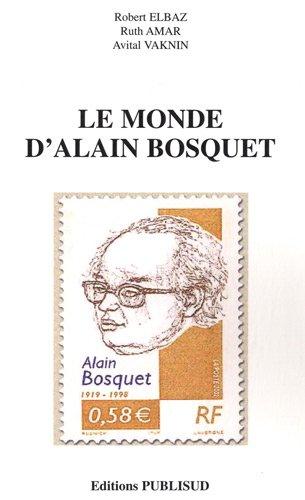 9782866005948: Le monde d'Alain Bosquet