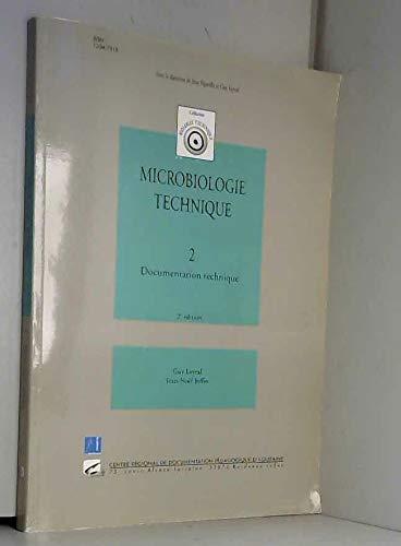 9782866173340: Microbiologie technique. : Tome 2, Documents techniques, 2ème édition