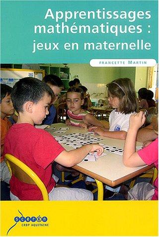 9782866174323: apprentissages mathématiques : jeux en maternelle