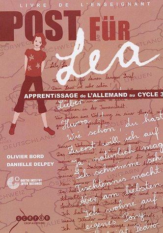 9782866174385: Post für Léa : Livre de l'enseignant (1CD audio)