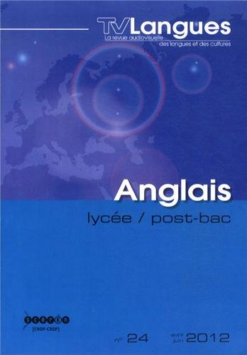 9782866216634: TVLangues, N� 24, Avril-juin 20 : Anglais lyc�e / post-bac