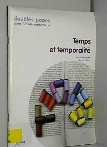 9782866240264: Temps et temporalité