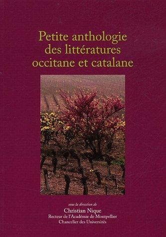 9782866262587: Petite anthologie des littératures occitane et catalane