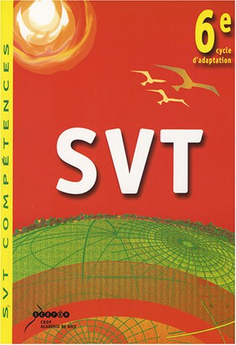 9782866294335: SVT 6e, cycle d'adaptation