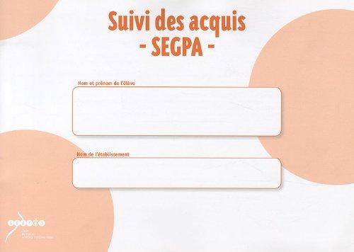 Suivi des acquis SEGPA: CRDP du Centre