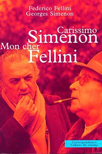 9782866422301: Carissimo Simenon : Mon cher Fellini