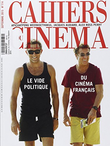 9782866429737: Cahiers du Cinema 714 Septembre 2015