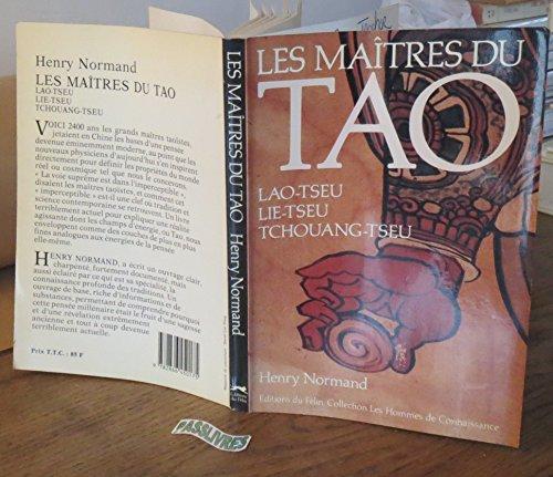 9782866450175: Les maîtres du Tao