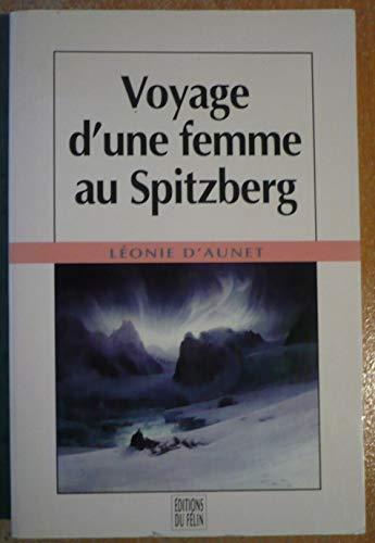 9782866451219: Voyage d'une femme au Spitzberg