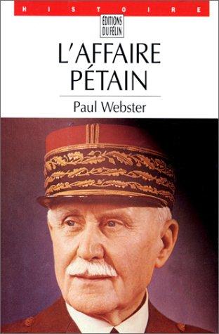 9782866451318: L'affaire Pétain