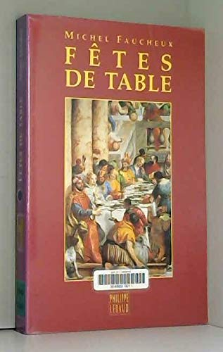 9782866452599: Fêtes de table