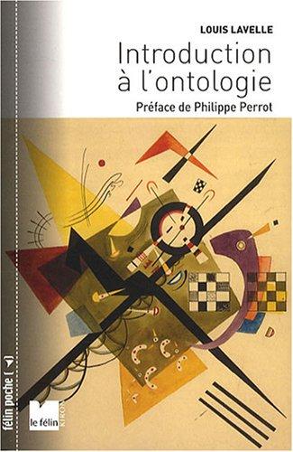 9782866456801: introduction à l'ontologie