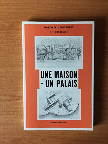 9782866490164: Maison un palais/le corbusier