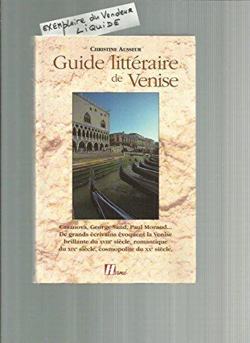 9782866651787: Guide littéraire de Venise