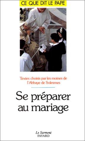 Se préparer au mariage: Lucien Regnault