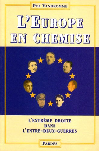 l'europe en chemise (French Edition) (2867142954) by [???]
