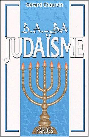 9782867142987: B.A.-BA du judaïsme