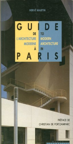 9782867384837: Guide de l'architecture moderne à Paris : [1990-1995] (Guides de paris)