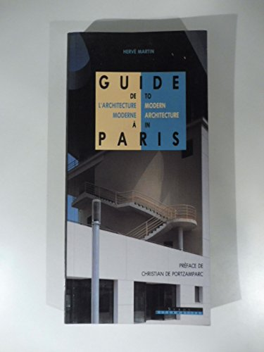 Guide de l architecture moderne à Paris : [1990-1995].