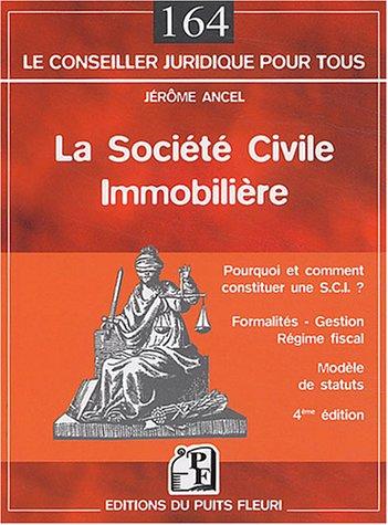9782867392351: La Société civile immobilère