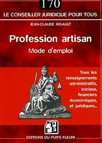 9782867392443: Profession artisan (French Edition)