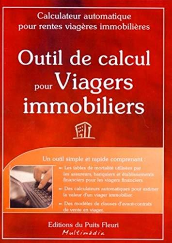 9782867393167: Outils de Calcul pour Viagers Immobiliers. Calculateur pour Rentes Viageres Immobilieres. CD-ROM