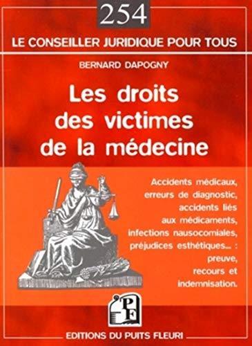 9782867393945: Le droit des victimes de la m�decine