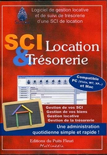 9782867394188: Sci location & tresorerie. CD ROM. logiciel de gestion locative et de suivi de tresorerie d'une sci