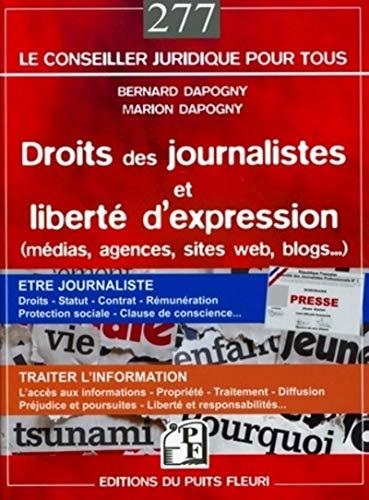 droits des journalistes et liberté d'expression: Bernard Dapogny, Marion Dapogny