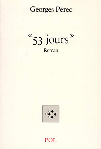 9782867441615: 53 jours: Roman (French Edition)